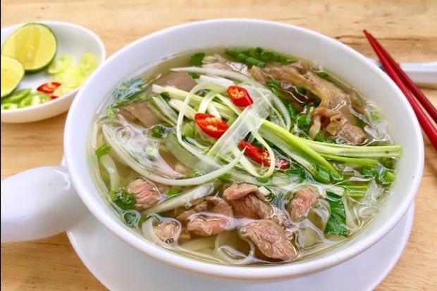 Pho Bo de Hanoi, tarjea de presentacion de culinaria vietnamita en el mundo hinh anh 1
