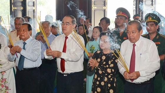 Honran en Vietnam tradiciones revolucionarias de zona Sai Gon- Cho Lon- Gia Dinh hinh anh 1