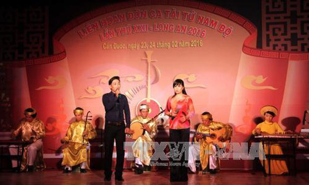 "Arte musical y vocal ""Don ca tai tu"" del sur de Viet Nam hinh anh 1"
