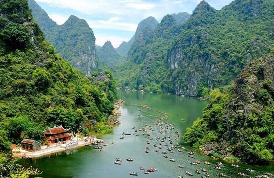 Complejo paisajistico de Trang An, destino atractivo en provincia de Ninh Binh hinh anh 1