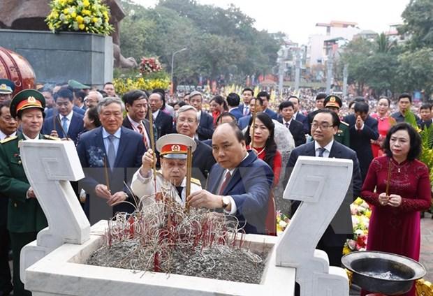 Conmemoran en Vietnam aniversario de epica victoria contra invasores chinos hinh anh 1