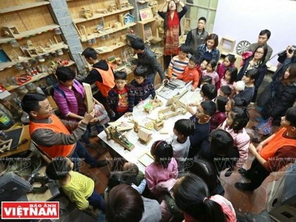 Creative Gara: espacio creativo para ninos en Hanoi hinh anh 1