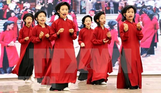El canto Xoan de la provincia de Phu Tho de Vietnam hinh anh 1