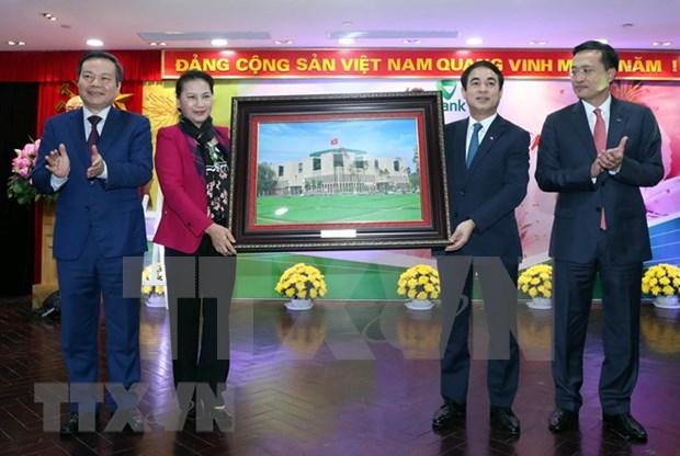 Recomienda presidenta del Parlamento de Vietnam orientaciones para importantes instituciones hinh anh 1