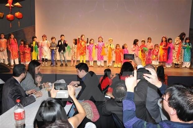 Festejan vietnamitas residentes en Belgica en ocasion del Ano Nuevo Lunar hinh anh 2