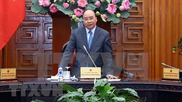 Pide Premier de Vietnam fortalecer disciplina laboral a principios del nuevo ano lunar hinh anh 1