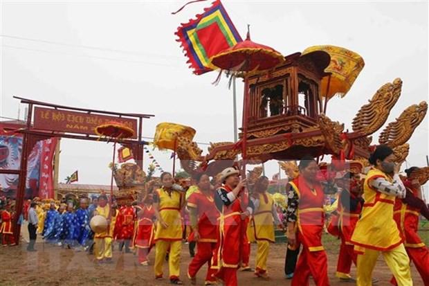 Vicepremier vietnamita asiste a festival para promover produccion agricola hinh anh 2