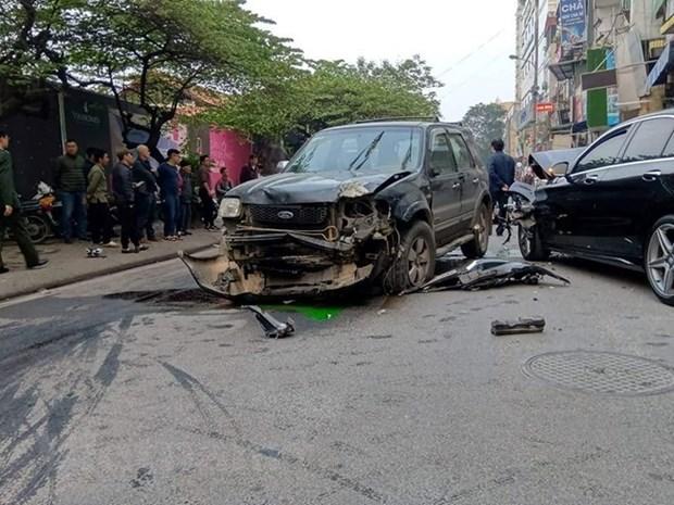Reportan en Vietnam 183 muertos por accidentes de transito durante asueto del Ano Nuevo Lunar hinh anh 1
