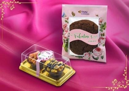 Ofrece aerolinea tailandesa postres especiales en ocasion de San Valentin hinh anh 1