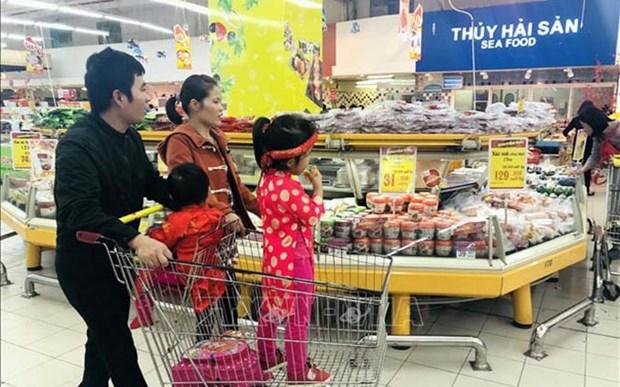 Aumento poder adquisitivo en Ciudad Ho Chi Minh durante las vacaciones del Tet hinh anh 1