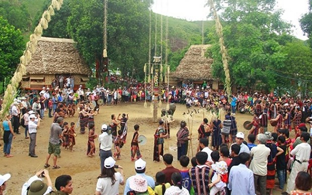 Celebran diversas actividades en la Aldea de Cultura - Turismo hinh anh 1