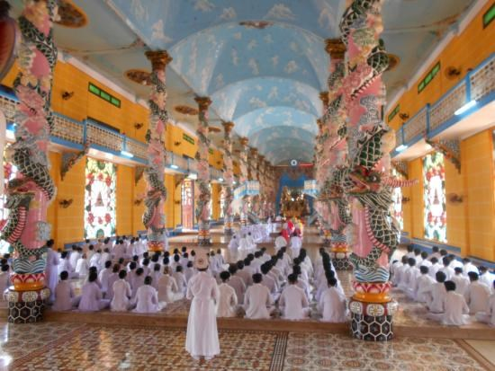 Creyentes del Caodaismo de provincia surena de Tay Ninh recuerdan tradiciones nacionales hinh anh 1