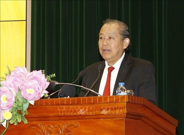 Vicepremier vietnamita insta a la Auditoria Estatal a optimizar sus funciones en 2019 hinh anh 1