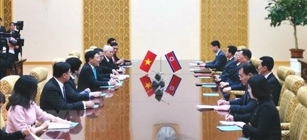 Vietnam y Republica Popular Democratica de Corea buscan fomentar lazos bilaterales hinh anh 1