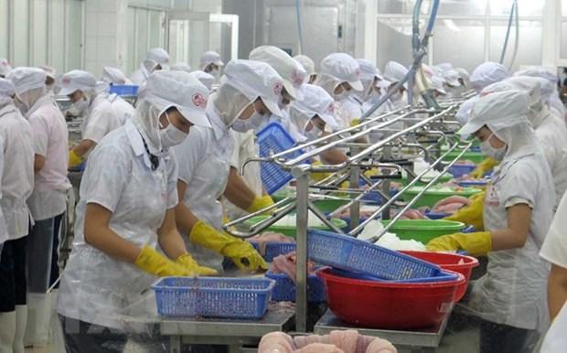 Exportaciones acuicolas de Vietnam registran un crecimiento de dos digitos en enero hinh anh 1