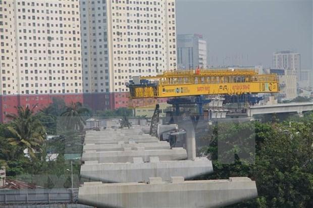 Concluira Ciudad Ho Chi Minh construccion de su primera linea de metro en 2020 hinh anh 1