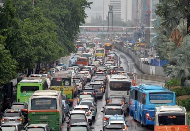 Impulsa Indonesia medidas para mejorar trafico en su capital hinh anh 1