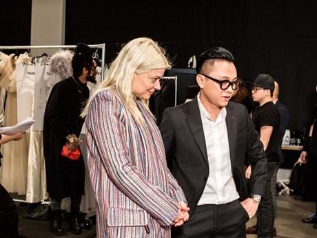 Debuta disenador vietnamita en Semana de la Moda de Nueva York hinh anh 1