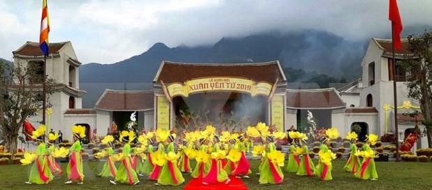 Inauguran en Vietnam una de las mayores fiestas primaverales hinh anh 1