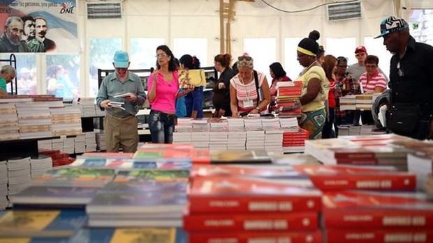 Presenta Vietnam destacadas obras en Feria Internacional del Libro de Cuba hinh anh 1
