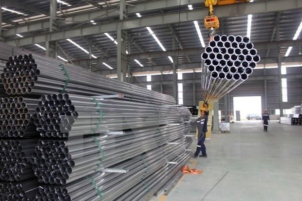 Gobierno vietnamita no interviene en precios internos de tuberias de acero, concluye agencia canadiense hinh anh 1
