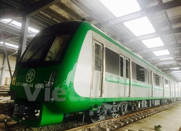 Primer tren elevado en Hanoi entrara en operacion oficial en abril hinh anh 1