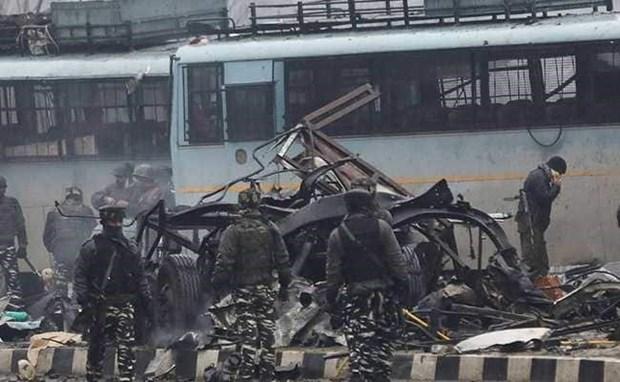 Expresa Vietnam solidadridad con la India por ataque terrorista hinh anh 1