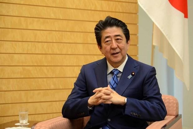 Seguiran creciendo nexos Vietnam-Japon, sostiene Shinzo Abe en entrevista concedida a VNA hinh anh 1