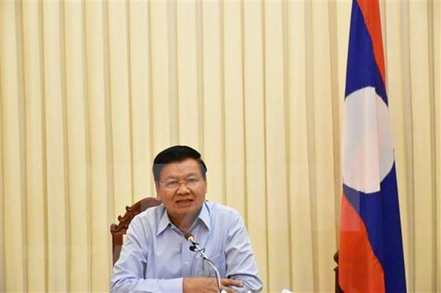 Laos busca racionalizar el aparato de agencias estatales hinh anh 1