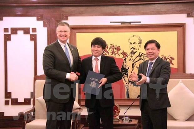 Aerolineas vietnamitas pueden ofrecer viajes directos a EE. UU. hinh anh 1