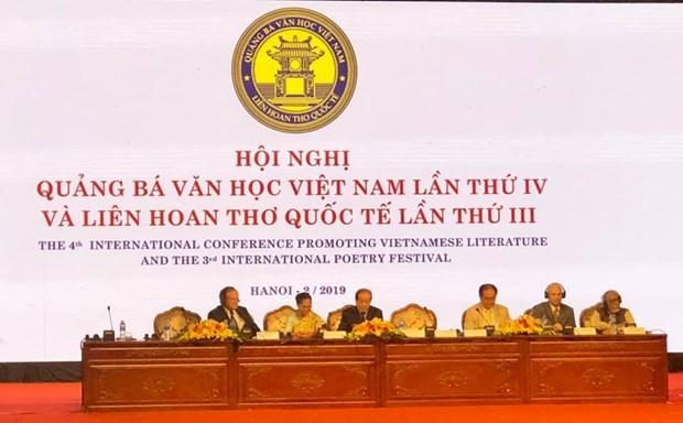 Inauguran en Hanoi importante evento literario internacional hinh anh 1