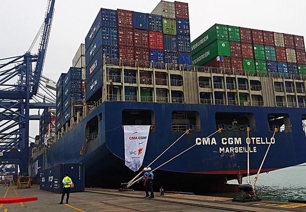 Subio deficit comercial de Indonesia con China en enero hinh anh 1