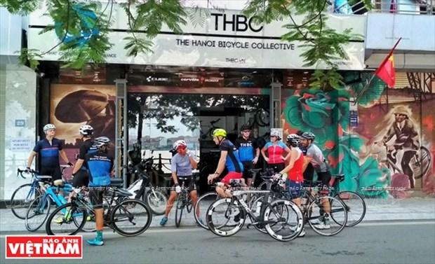 THBC, un lugar de encuentro para los fanaticos de bicicletas hinh anh 1