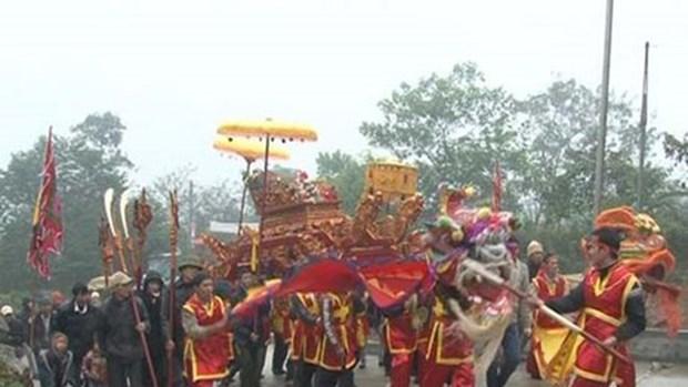 Celebran festival en honor al santo Tan Vien en Hanoi hinh anh 1