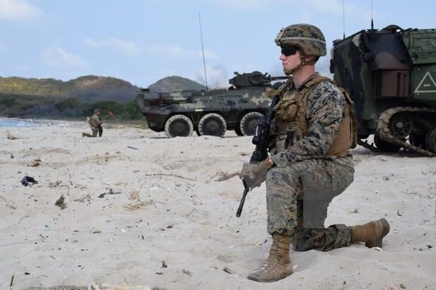 Realizan Estados Unidos, Tailandia y Corea del Sur ejercicio de asalto anfibio hinh anh 1