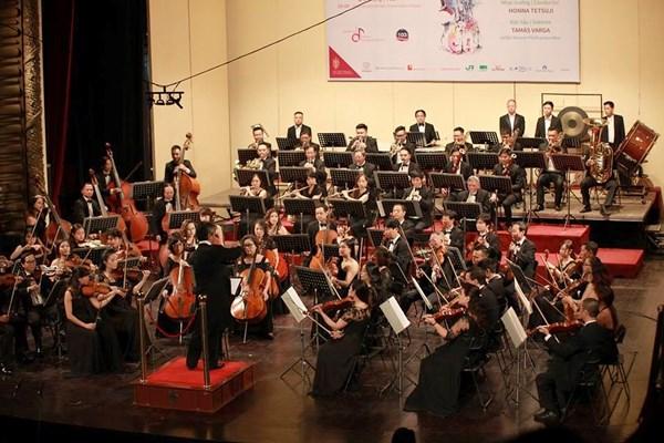 Efectuara la Orquesta Sinfonica de Vietnam concierto de apertura de la temporada 2019 hinh anh 1