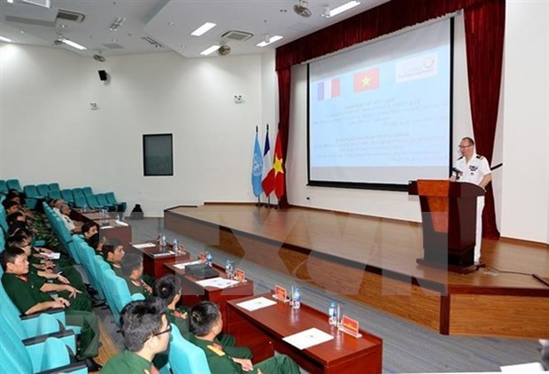Revisa Vietnam preparacion de fuerza de zapadores para misiones de paz hinh anh 1