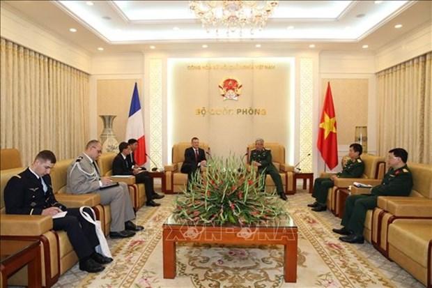 Destacan nexos entre Vietnam y Francia en defensa hinh anh 1