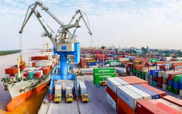 Aumento el valor de las importaciones y exportaciones durante las vacaciones del Ano Nuevo Lunar hinh anh 1