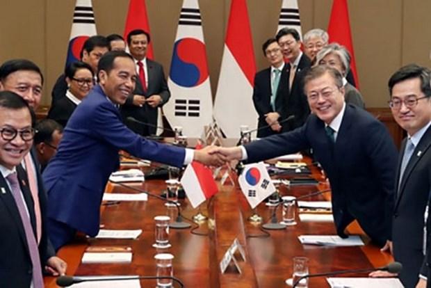 Corea del Sur reanuda negociaciones sobre acuerdo comercial con Indonesia hinh anh 1