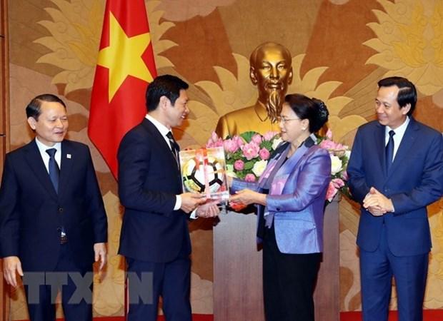 Resalta maxima legisladora vietnamita asistencia de comunidad empresarial a actividades caritativas hinh anh 1