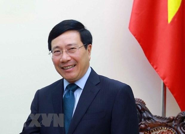 Visitara Alemania el viceprimer ministro de Vietnam hinh anh 1
