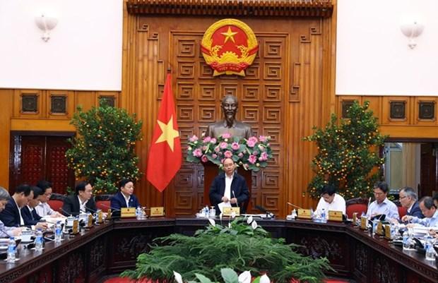 Premier pide implementar resolucion sobre el desarrollo sostenible del Delta del Mekong hinh anh 1