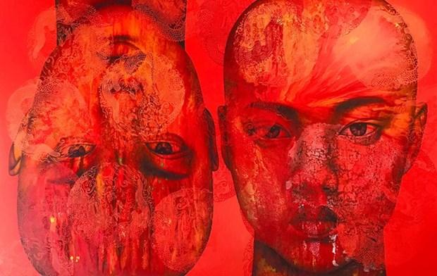 Presentan en Vietnam exposicion del pintor tailandes Vichit Nongnual hinh anh 1