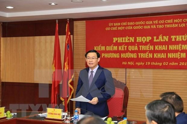 Insta Viceprimer ministro de Vietnam a facilitar actividades comerciales hinh anh 1