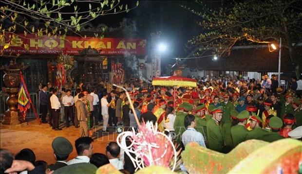Inauguran en Vietnam el Festival del Templo Tran hinh anh 1