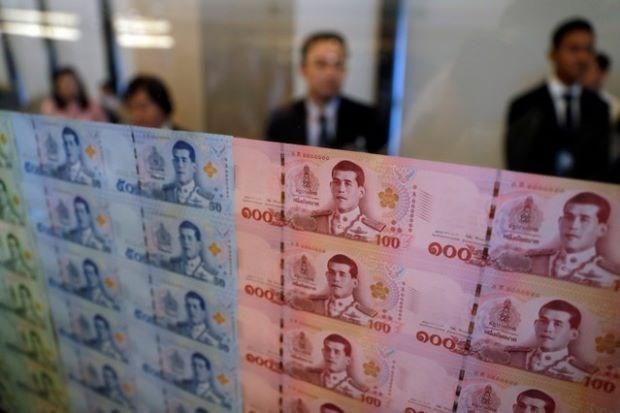 Sube la moneda tailandesa hinh anh 1