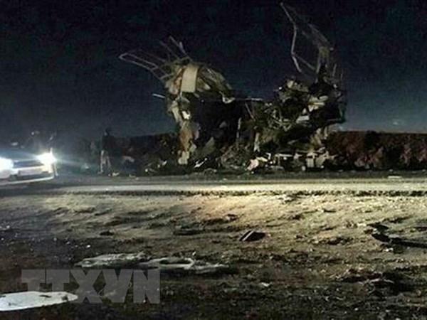 Expresa Vietnam solidaridad con Iran tras ataque terrorista hinh anh 1