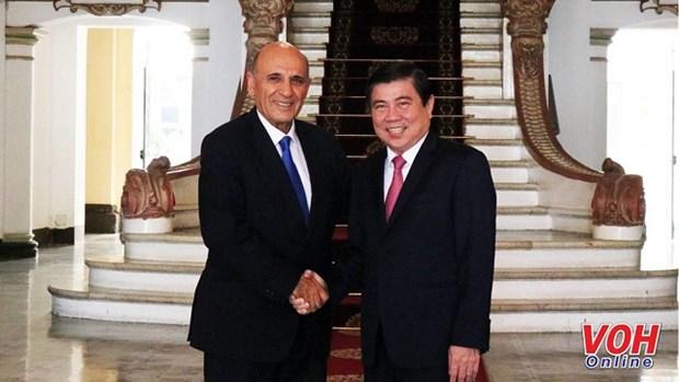 Busca Ciudad Ho Chi Minh apoyo de Israel para capacitacion en ciberseguridad hinh anh 1