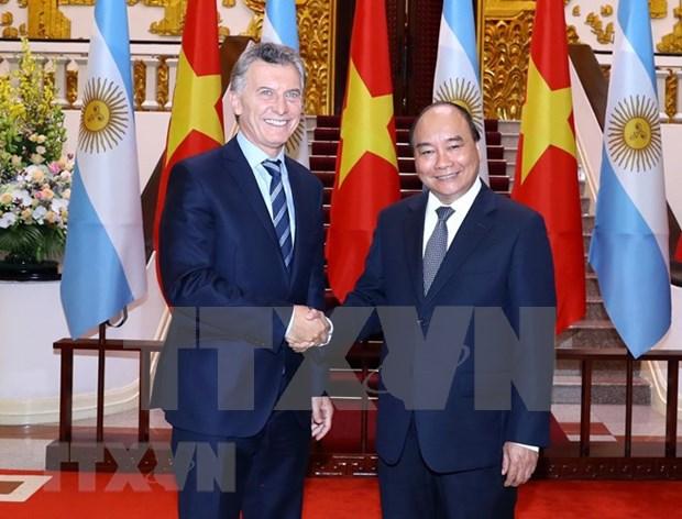 Sugiere Premier de Vietnam apertura de mercado argentino para productos agricolas nacionales hinh anh 1